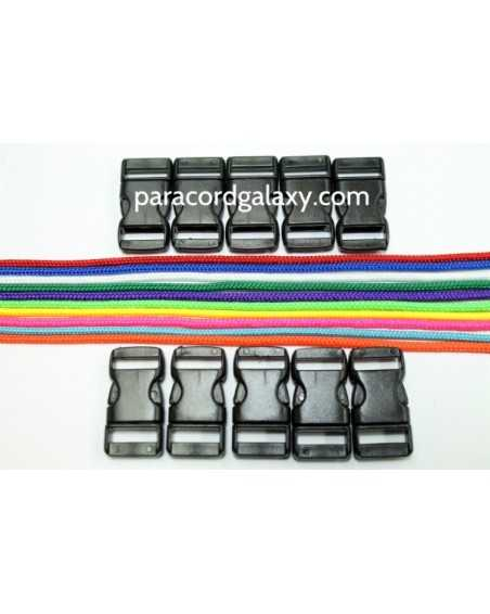 Type 1 Paracord - Neons & Brights Bracelet Kit 31