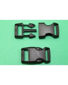 5/8 IN - BLACK - Side Release Buckle