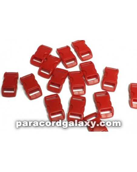 3/8 IN - RED - Side Release Buckles