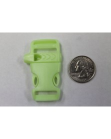 5/8 IN - FLAT GLOW in the DARK WHISTLE - Side Release Buckle
