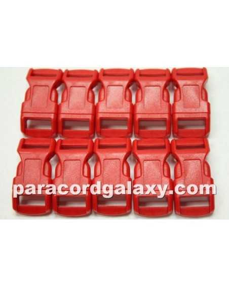 1/2 IN - RED - Side Release Buckles