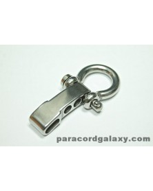 Heavy Duty Stainless Steel Bow ShacklebrADJUSTABLE with Clevis Pin
