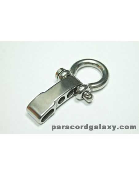 Heavy Duty Stainless Steel Bow Shackle ADJUSTABLE with Clevis Pin