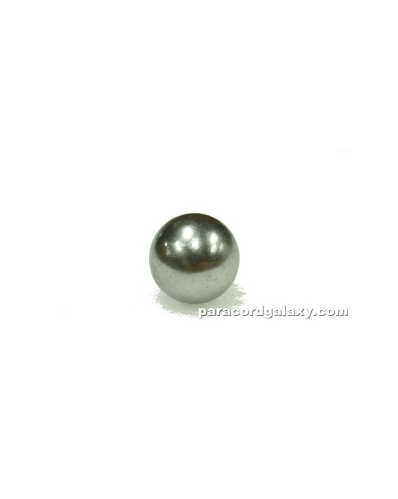 "SINGLE 3/4"" (19mm) Chrome Steel Ball for Paracord Monkey Fist"