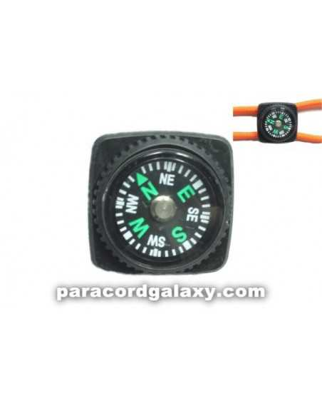 Slip On Compass for Paracord