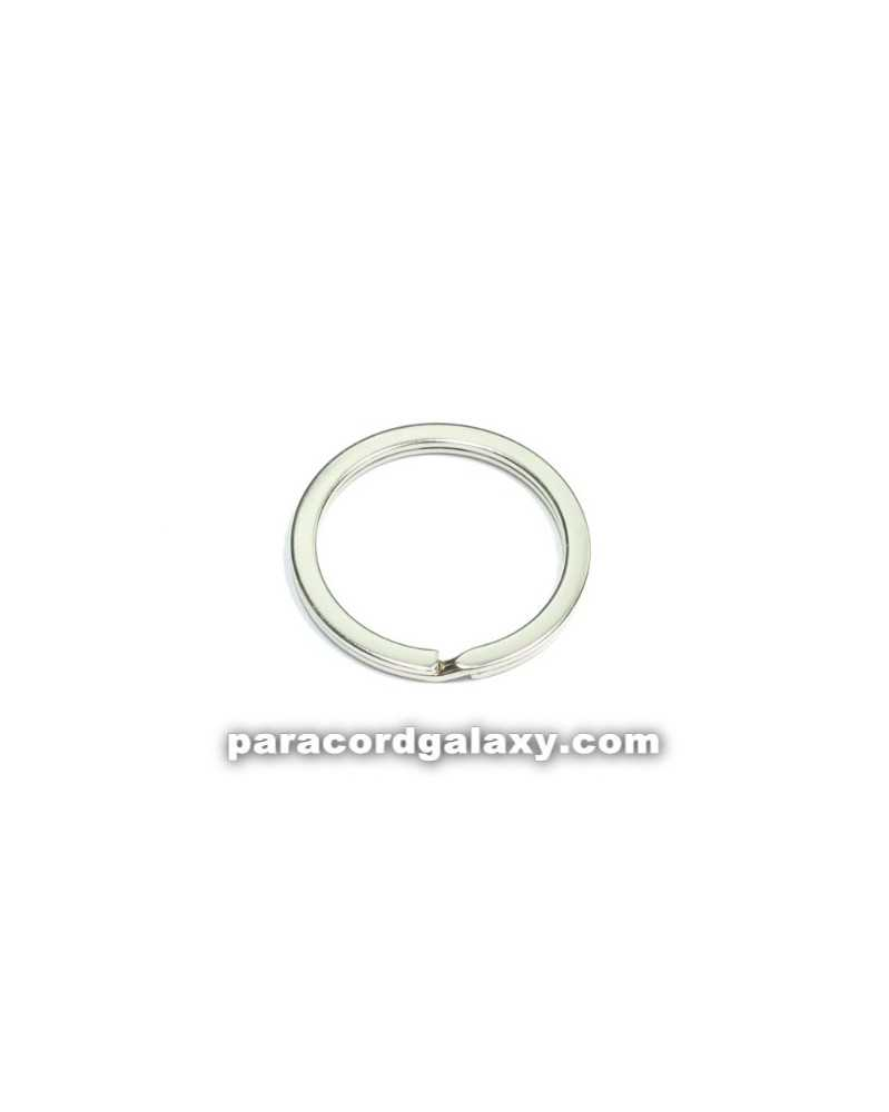 SINGLE Split Ring - Round Key Ring