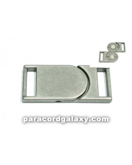 5/8 IN - Flat Magnetic Buckles - Ancient Silver