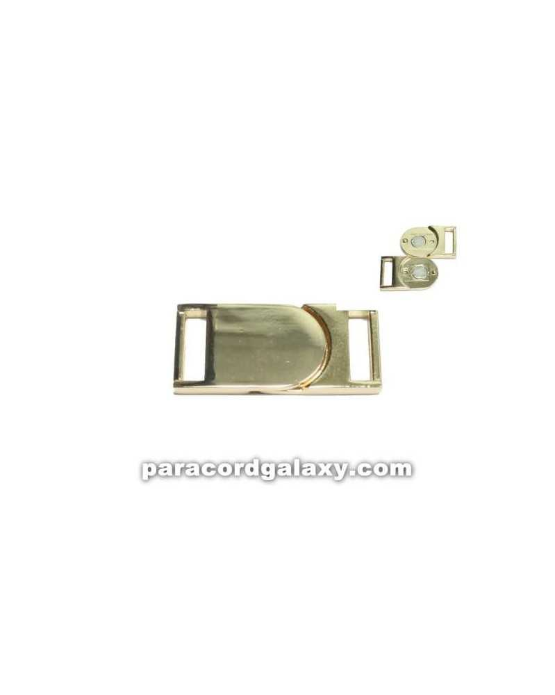 "SINGLE 5/8"" - Flat Magnetic Buckles - Gold"