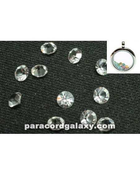 Birthstone Crystal Floating Charms Clear