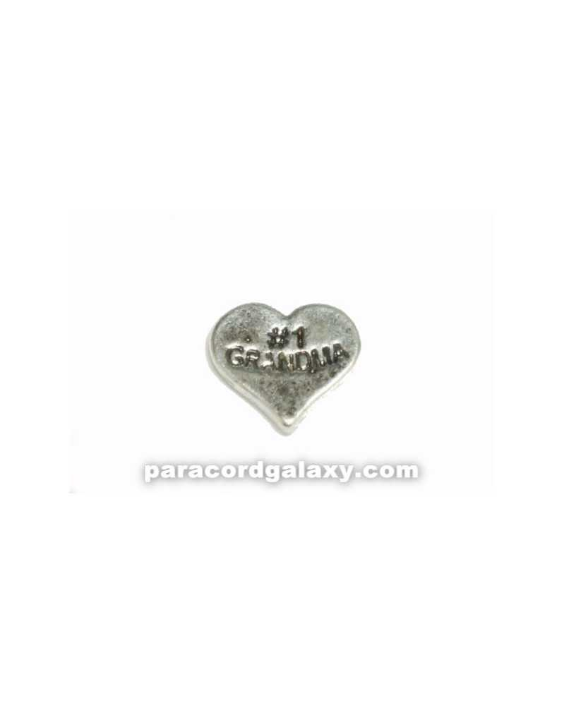 Floating Charm Heart - 1 GRANDMA