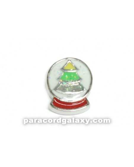 Floating Charm Christmas Tree Snowglobe