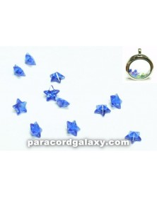 SINGLE - Birthstone Star Floating Charms Dark Blue