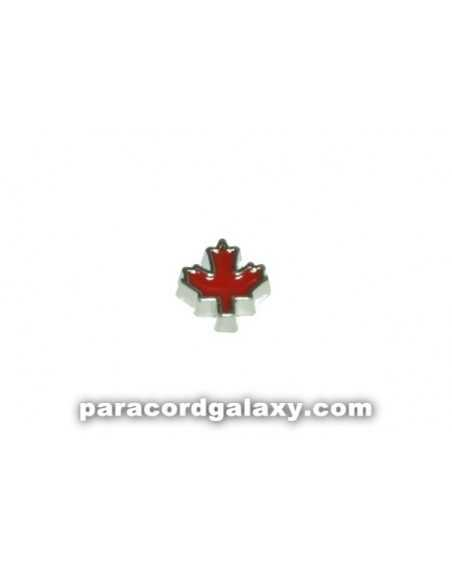 Floating Charm Red Maple Leaf