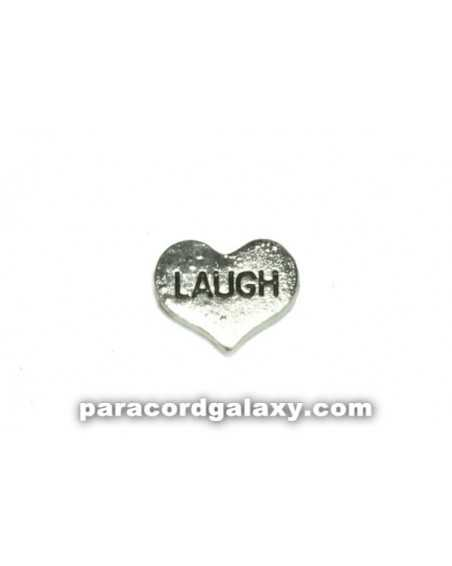 Floating Charm Heart - LAUGH
