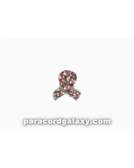 Floating Charm Ribbon Pink Jewel
