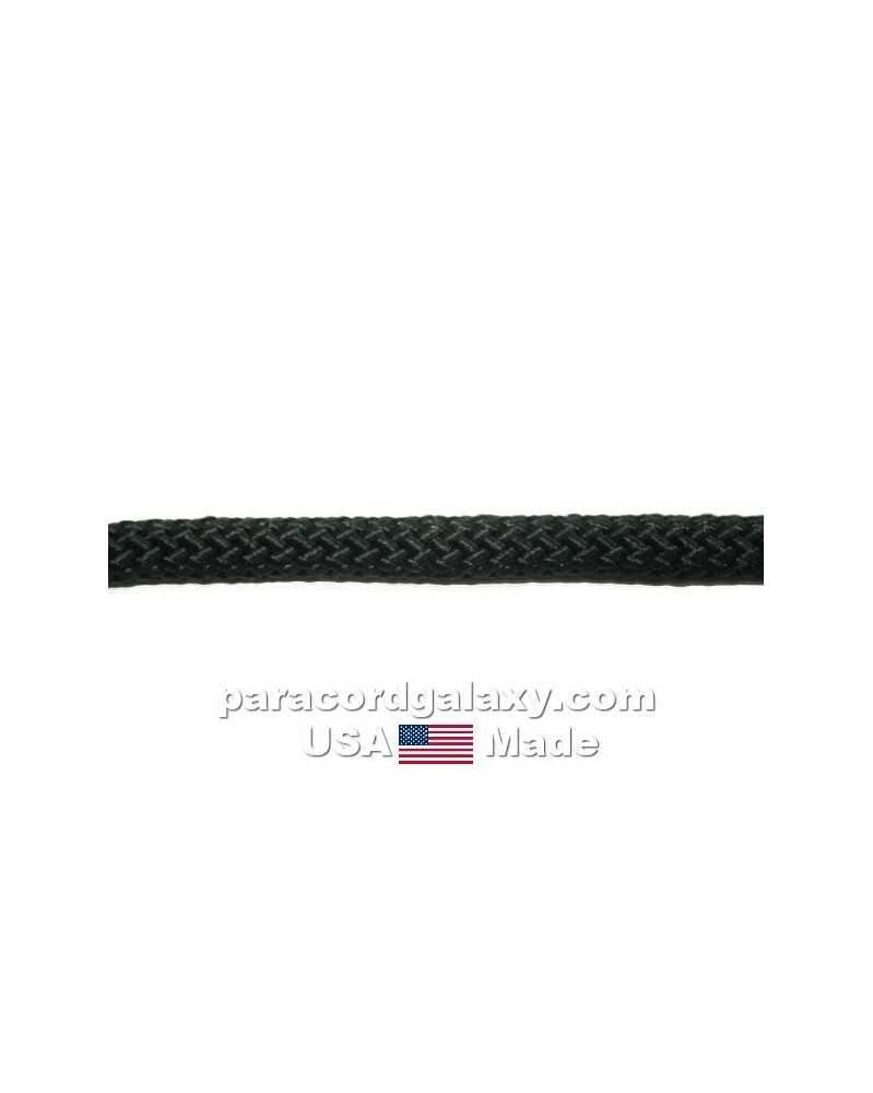 "1/4"" Rope - Black – USA Made"