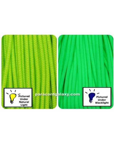 275 Tactical Paracord NEON Green Made in USA