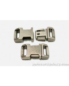 BZ 1/2 IN - GUN METAL ZINC - Side Release Buckle