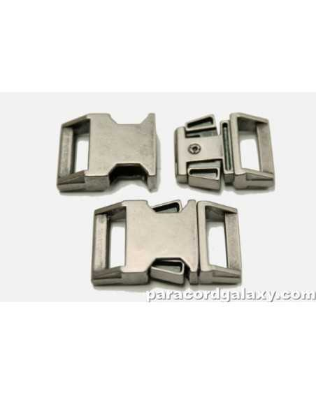 BZ 5/8 IN - GUN METAL ZINC - Side Release Buckle