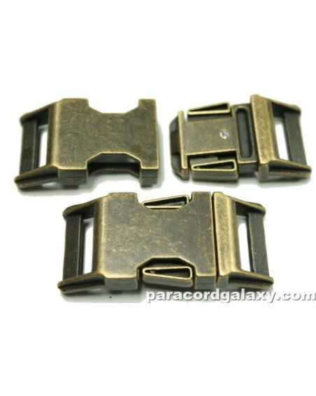 BZ 3/4 IN - ANTIQUED ZINC - Side Release Buckle