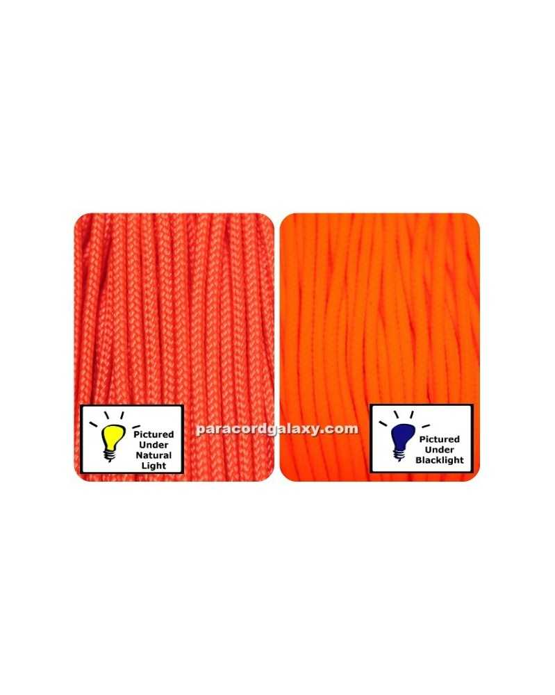 Type 1 Paracord NEON Orange Made in USA