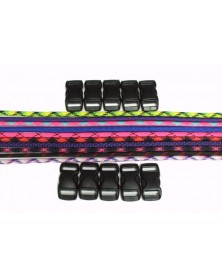 550 Paracord - Popular Colors (A) Bracelet Kit 6
