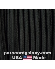 "1/2"" Black Shock Cord USA Made"