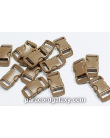 3/8 IN - BROWN - Side Release Buckles