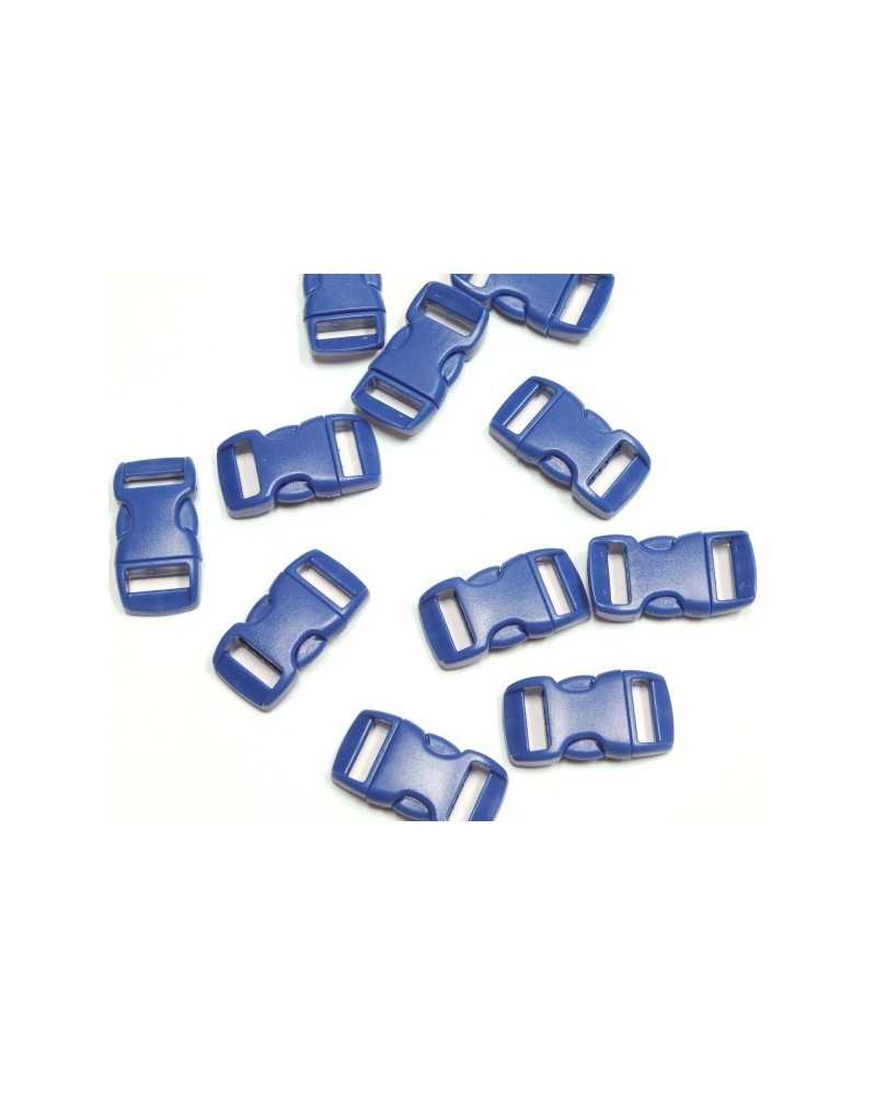 "10 PACK - 3/8"" - BLUE - Side Release Buckles"