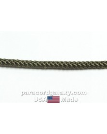 "Olive Decoy Diamond Braided Rope 1/4"" – USA Made"