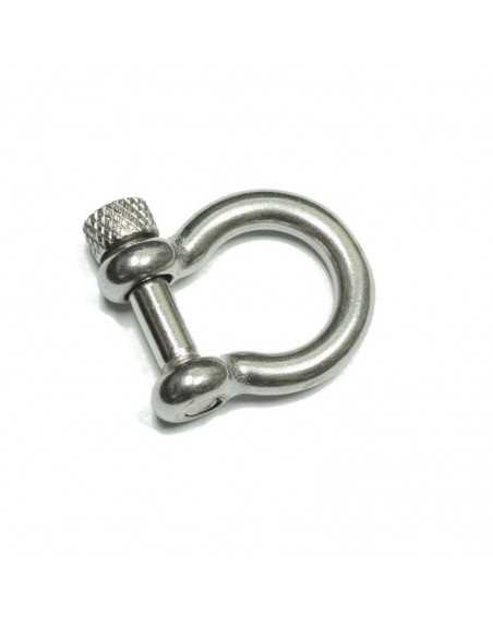 Stainless Steel BOW Shackle KNOB