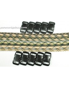 550 Paracord - Camo Bracelet Kit 3