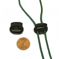 2 Hole cord stop small