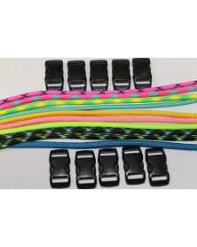 550 Paracord - Popular Colors (C) Bracelet Kit 8