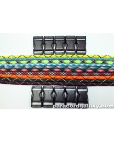 550 Paracord - Popular Colors (D) Bracelet Kit 12