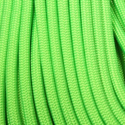 Lime 550 Paracord Made in USA