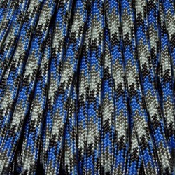 550 Paracord Blue Steel 100 ft Made in USA