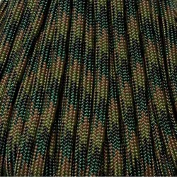 550 Paracord CAMO Woodland Made in USA