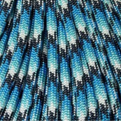 550 Paracord Blue Snake Made in USA