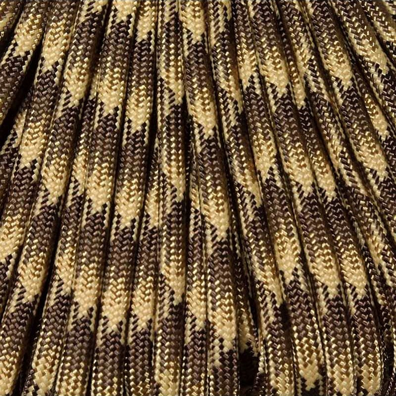550 Paracord FDE Camo 100 ft Made in USA