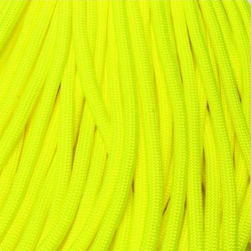550 Paracord NEON Yellow Made in USA