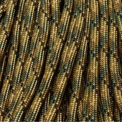 550 Paracord CAMO Tri-Camo 100 ft Made in USA