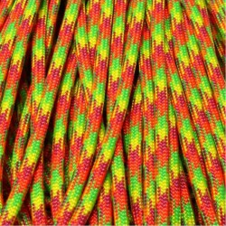 550 Paracord Starburst 100 ft Made in USA
