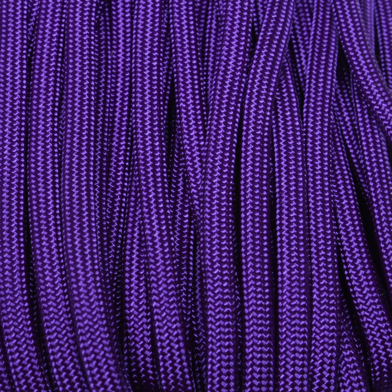 Neon Acid Purple 550 Paracord Made in USA