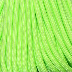 550 Paracord Mind Bender (Lite Green) 100 ft Made in USA
