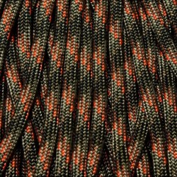 550 Paracord CAMO Fall Camo Made in USA