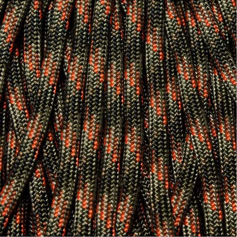 1000 Foot Spool 550 Paracord for Paracord Crafts UV Camo Made in the United States