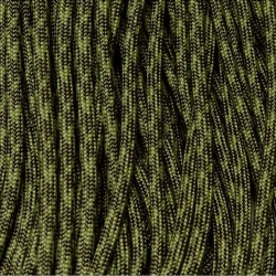 550 Paracord Olive Drab and Moss Camo Pattern Made in USA