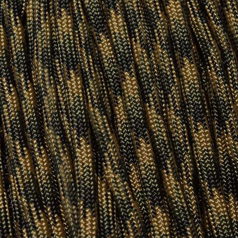 Tactical Camo 550 Paracord Made in USA