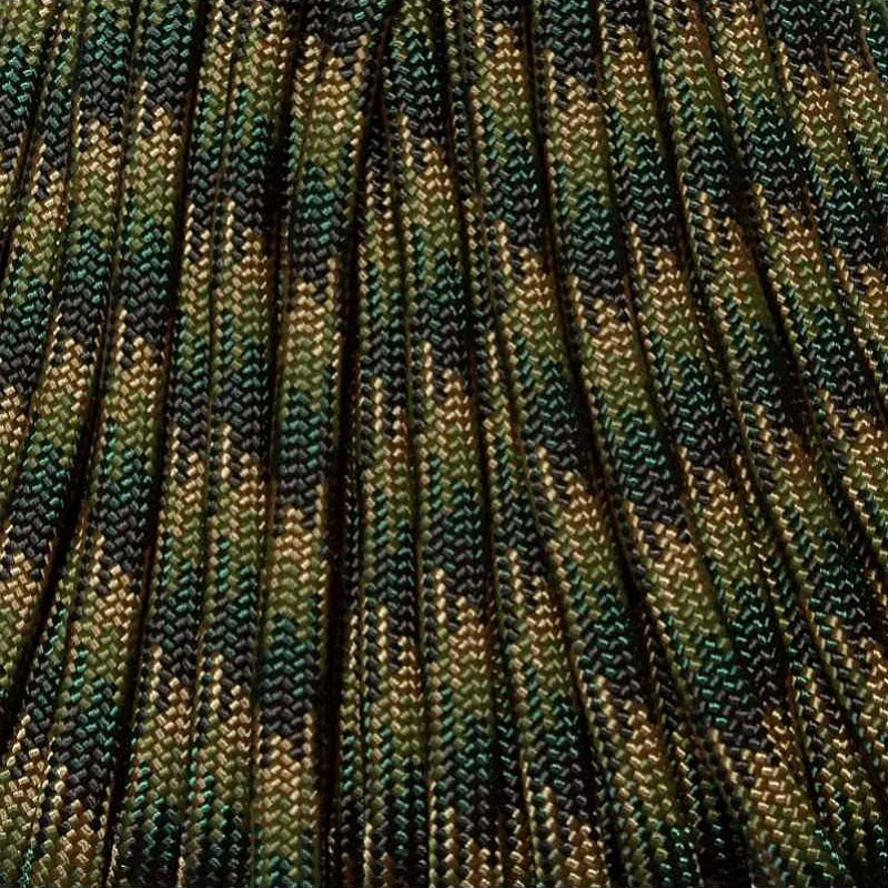550 Paracord Green Zone Camo Made in USA